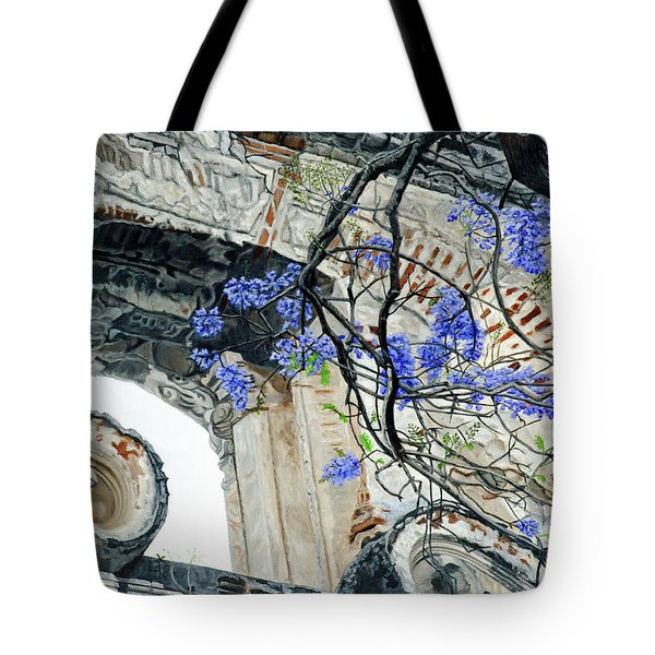 Old Growth Wisteria Tote Bag