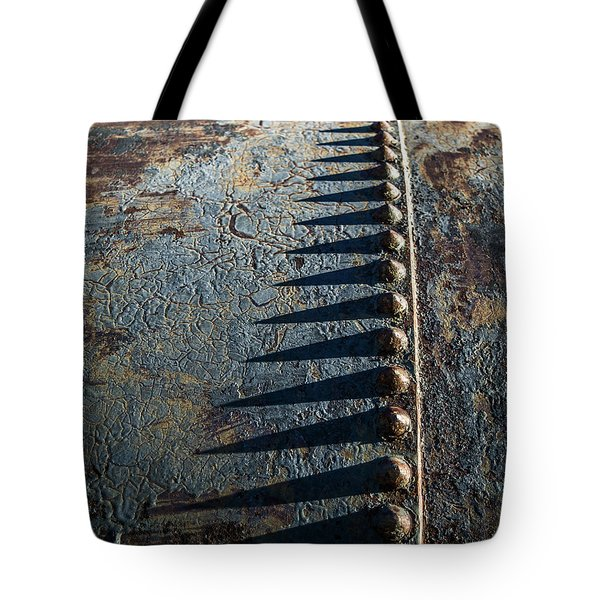 Tote Bag featuring the photograph Old Grunge by Mary Hone