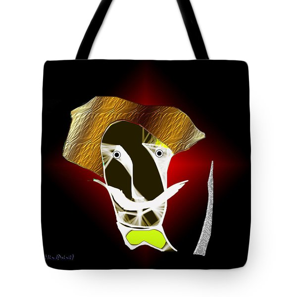 Tote Bag featuring the digital art Old Guard by Asok Mukhopadhyay