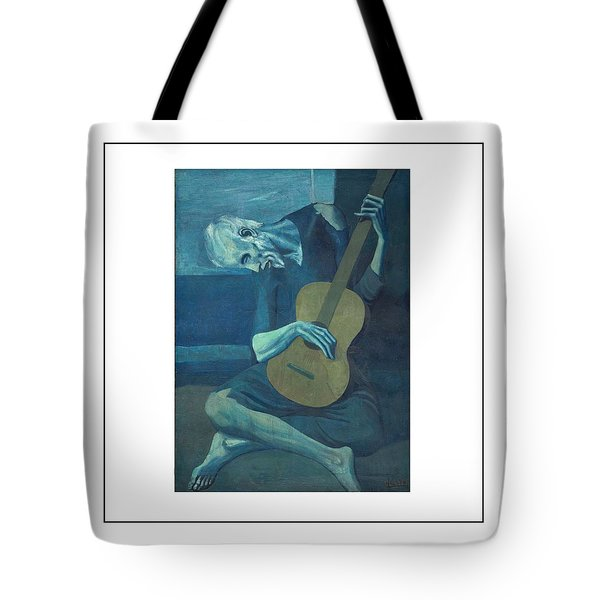 Old Guitarist Tote Bag