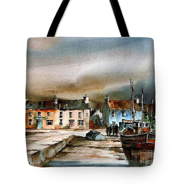 Old Harbour Dingle, Kerry Tote Bag