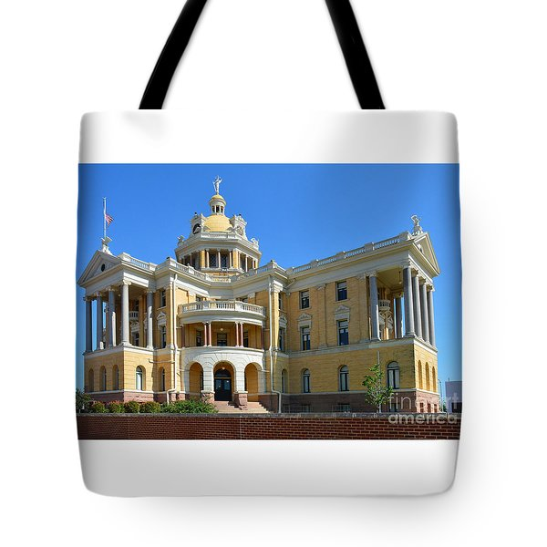 Old Harrison County Courthouse Tote Bag