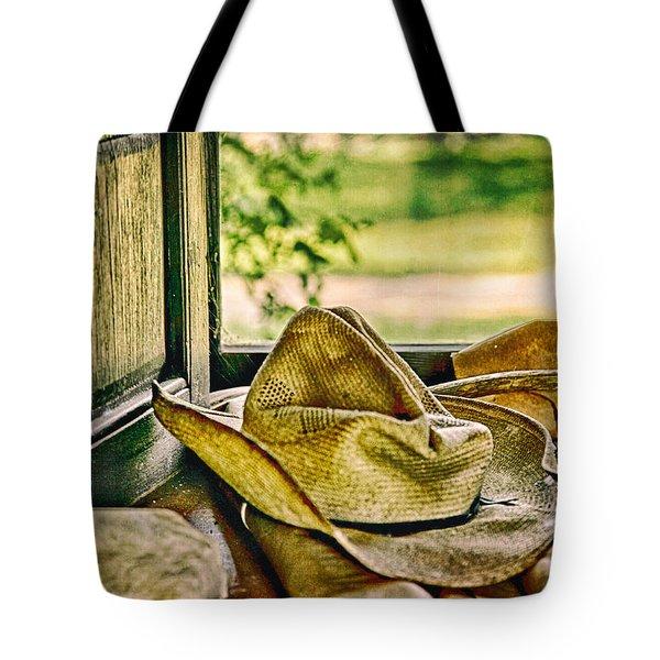 Old Hat Tote Bag