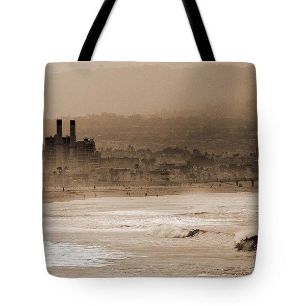 Old Hermosa Beach Tote Bag