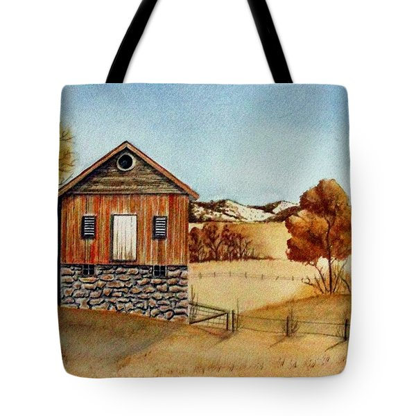Old Homestead Tote Bag by Jimmy Smith