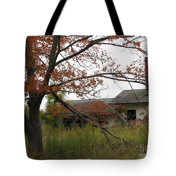 Old Homestead Tote Bag by Michael Krek