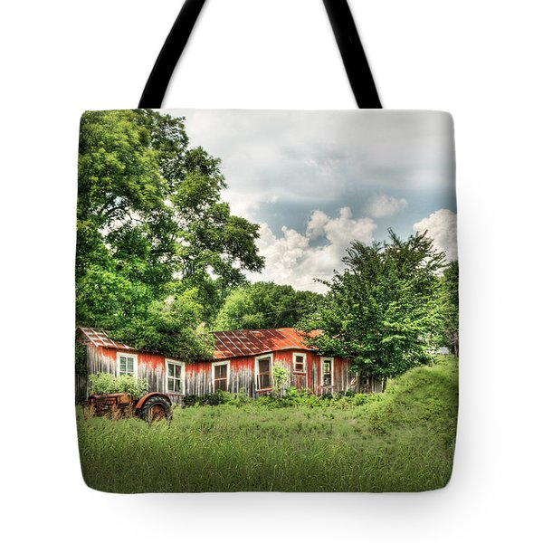 Old Homestead Tote Bag by Tamyra Ayles
