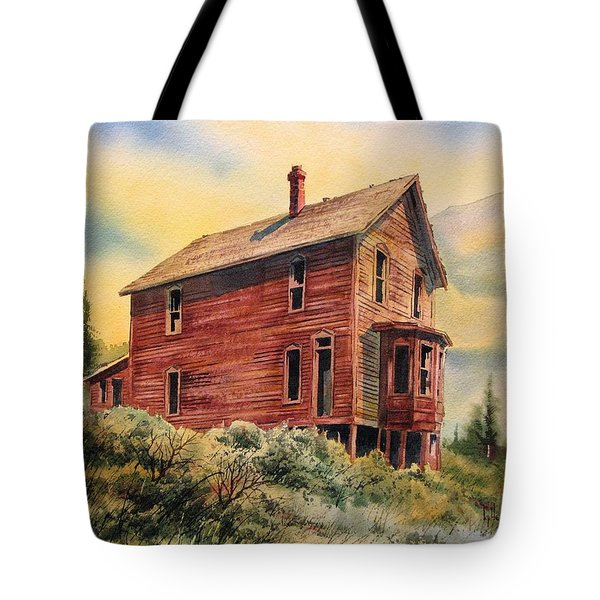 Old House Animas Forks Colorado Tote Bag by Kevin Heaney