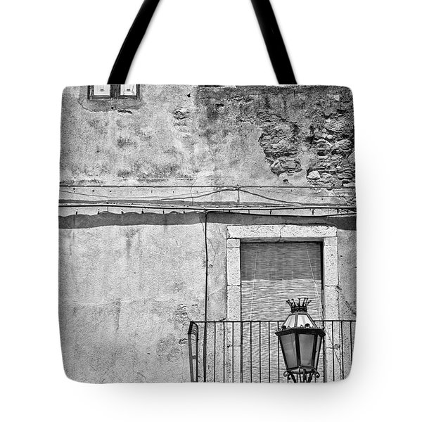 Old House In Taormina Sicily Tote Bag