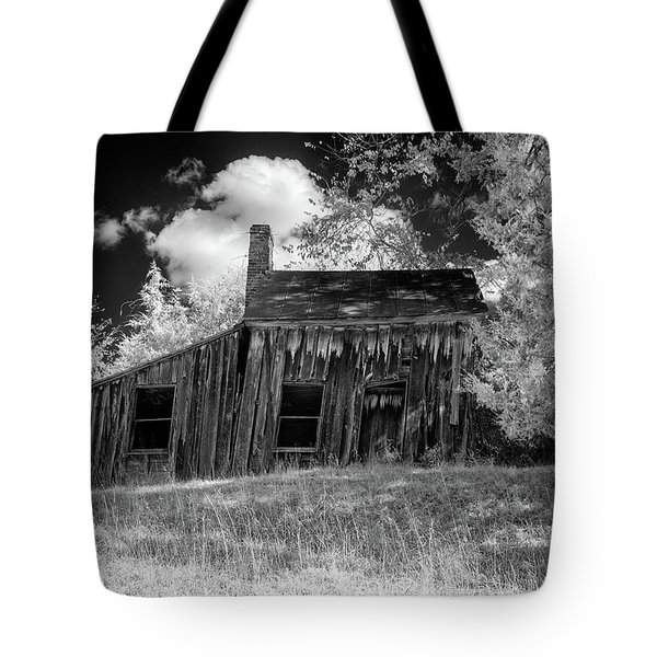 Old House On A Hill Tote Bag