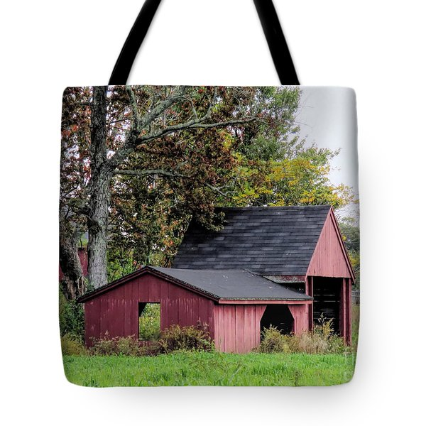 Old Ice House Hollis Nh  Tote Bag