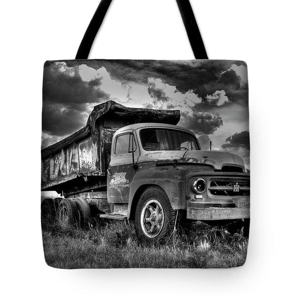 Old International #2 - Bw Tote Bag