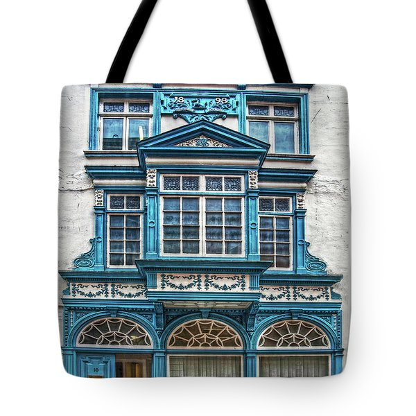 Tote Bag featuring the digital art Old Irish Architecture by Hanny Heim
