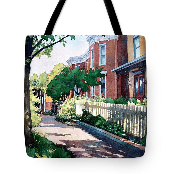 Old Iron Porch Tote Bag