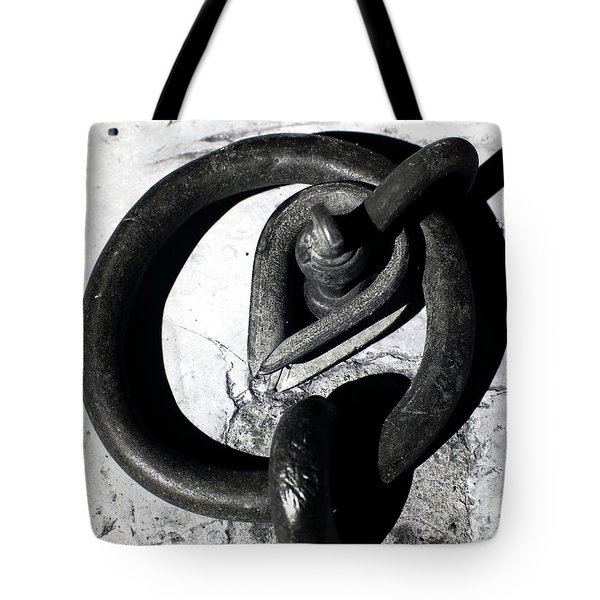 Old Iron Ring Tote Bag