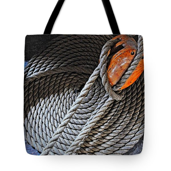 Old Ironsides Rope Tote Bag