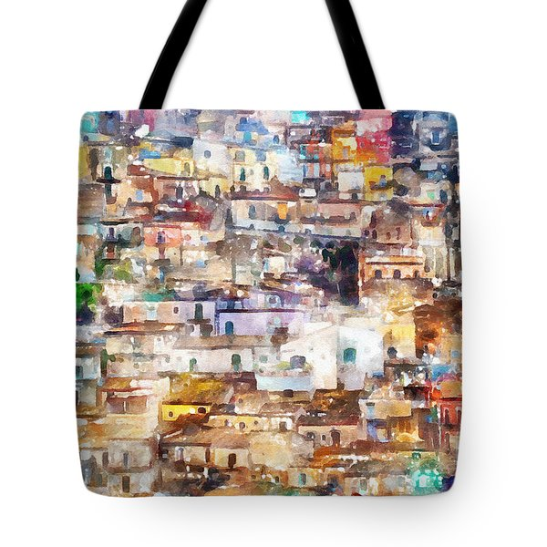 Old Italy Tote Bag by Shirley Stalter