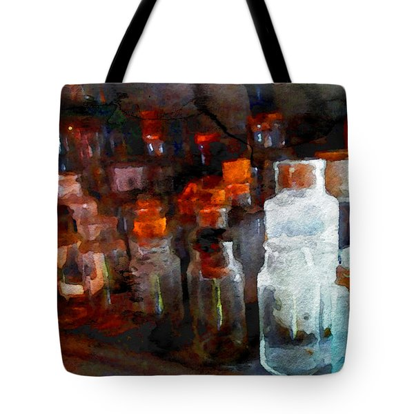Old Jars Tote Bag