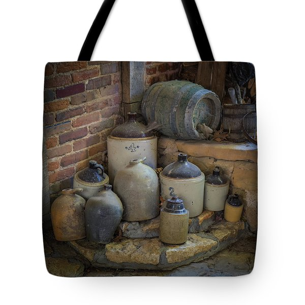 Old Jugs Color - Dsc08891 Tote Bag