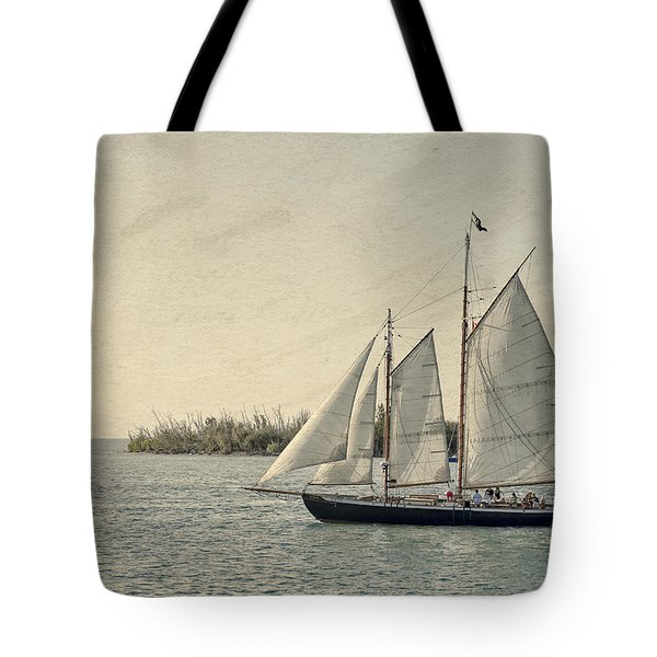 Old Key West Sailing Tote Bag