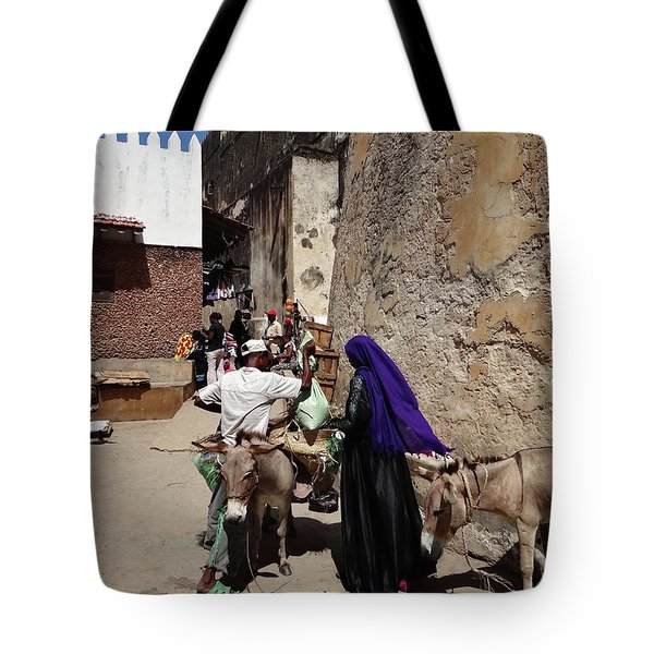 Old Lamu Town Tote Bag