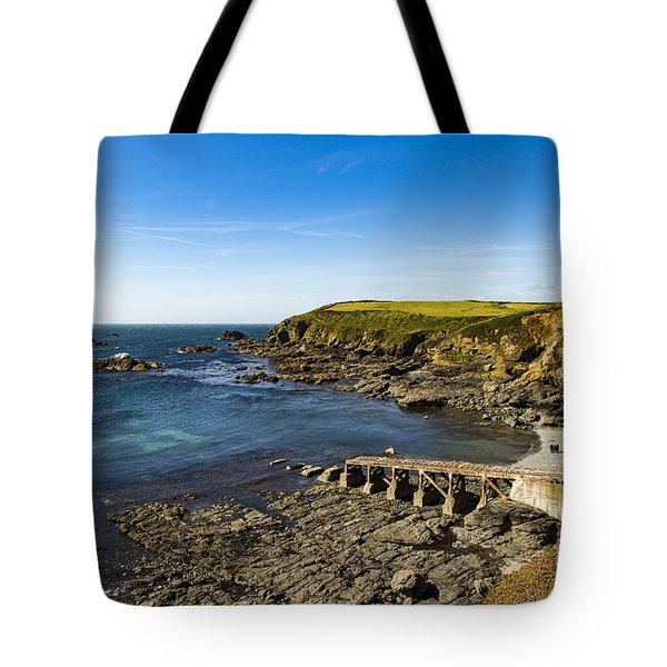 Tote Bag featuring the photograph Old Life Boat Station by Brian Roscorla