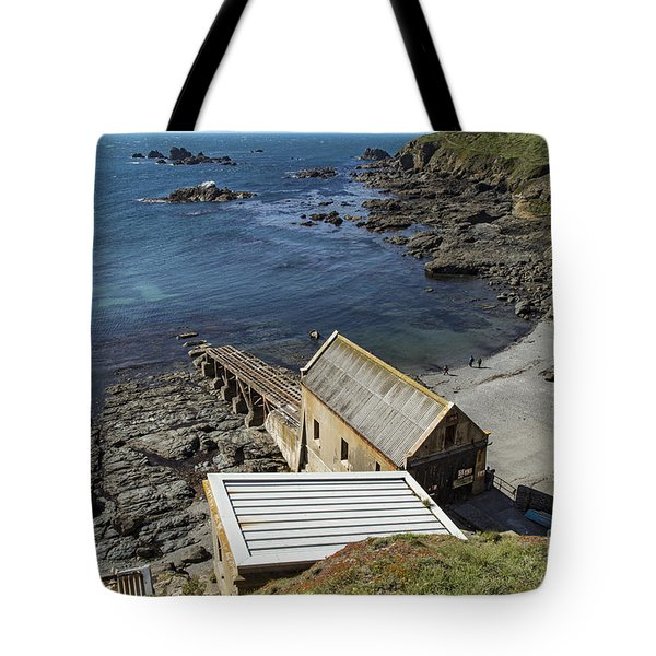 Tote Bag featuring the photograph Old Lifeboat Station by Brian Roscorla