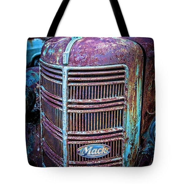 Old Mack Grille Tote Bag