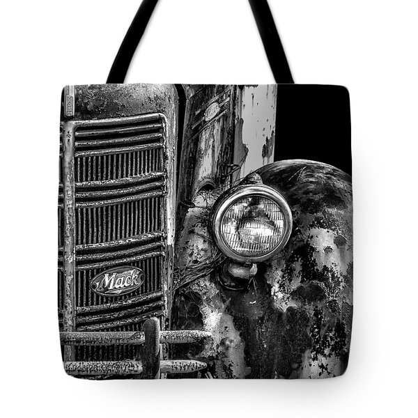 Old Mack Truck Front End Tote Bag