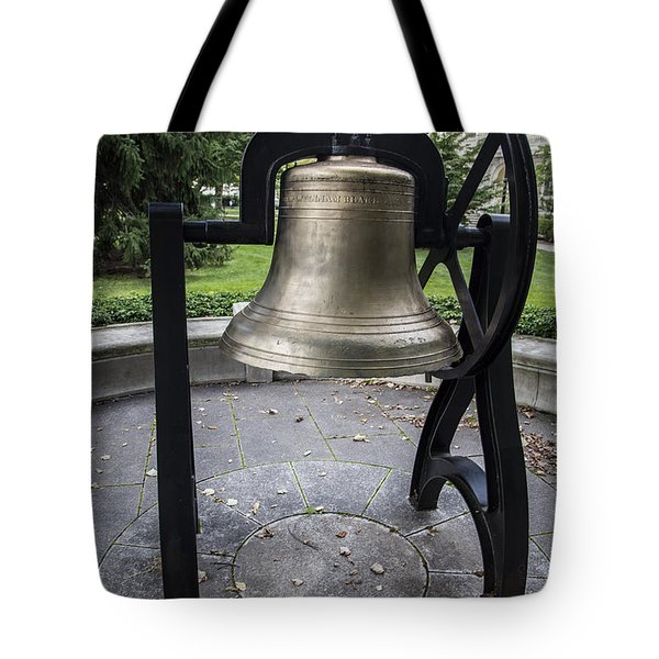 Old Main Bell  Tote Bag by John McGraw