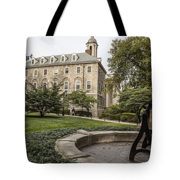 Old Main Penn State Bell  Tote Bag