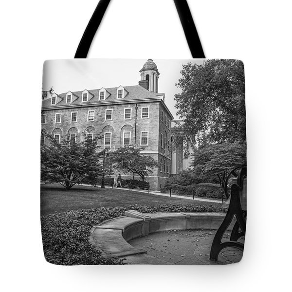 Old Main Penn State University  Tote Bag by John McGraw