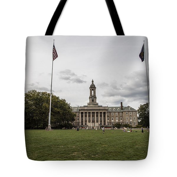 Old Main Penn State Wide Shot  Tote Bag