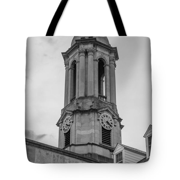 Old Main Tower Penn State Tote Bag by John McGraw