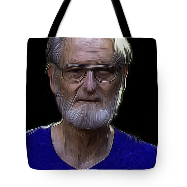 Old Man In Sunlight Tote Bag