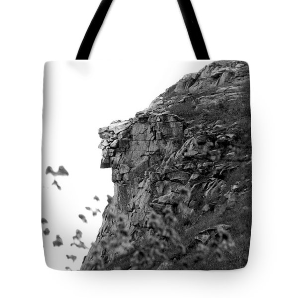 Old Man In The Mountain Tote Bag
