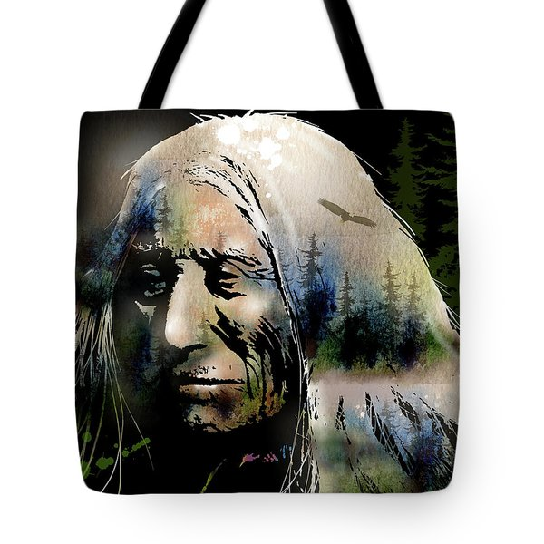Old Man Of The Woods Tote Bag by Paul Sachtleben