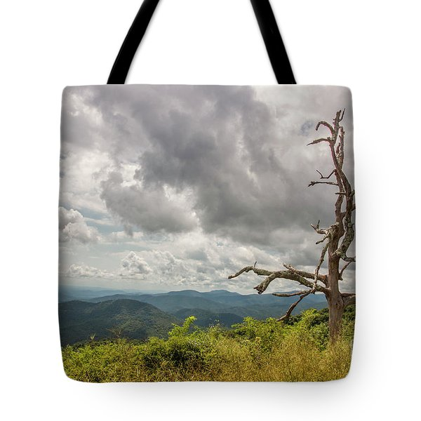 Old Man On The Mountian Tote Bag
