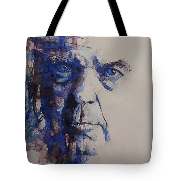 Old Man - Neil Young  Tote Bag by Paul Lovering