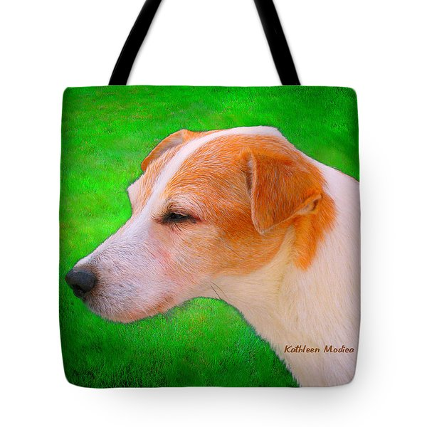 Old Man Whiskers Tote Bag