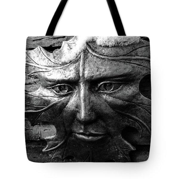 Old Man Winter Tote Bag
