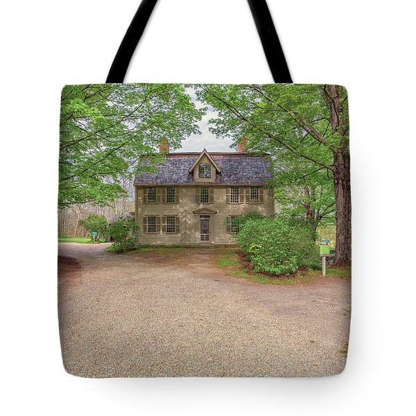 Old Manse Concord, Massachusetts Tote Bag