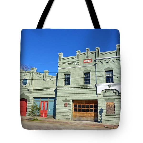 Old Market And Fire House Tote Bag