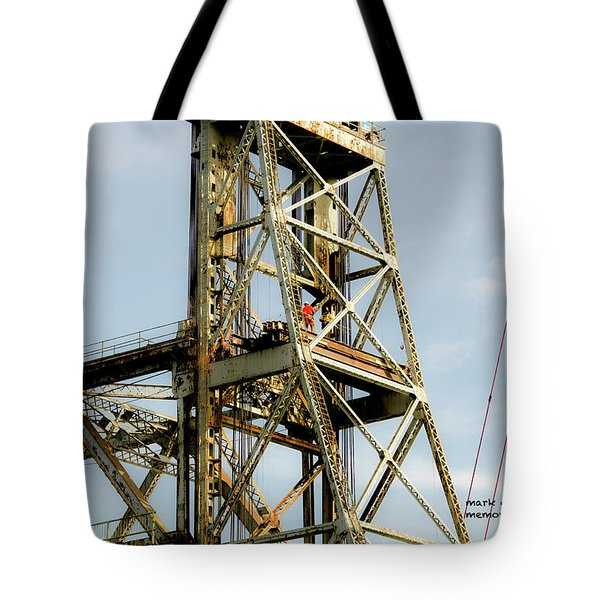 Old Memorial Bridge Tote Bag
