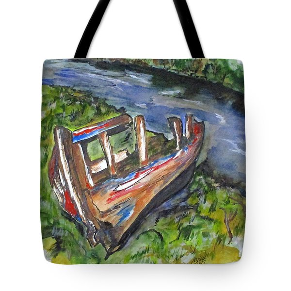 Old Memory Tote Bag