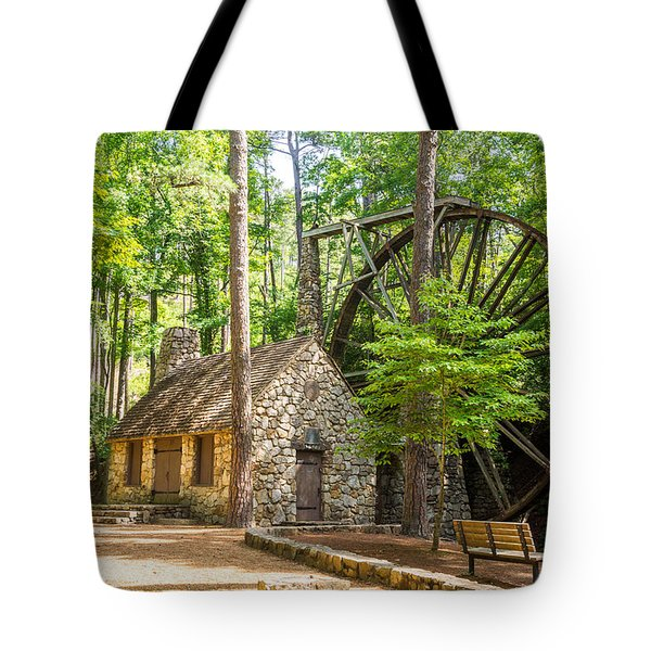 Old Mill At Berry College Tote Bag