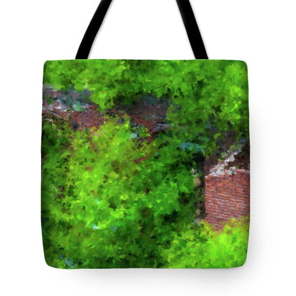 Old Mill Building In Lawrence Massachusetts Tote Bag