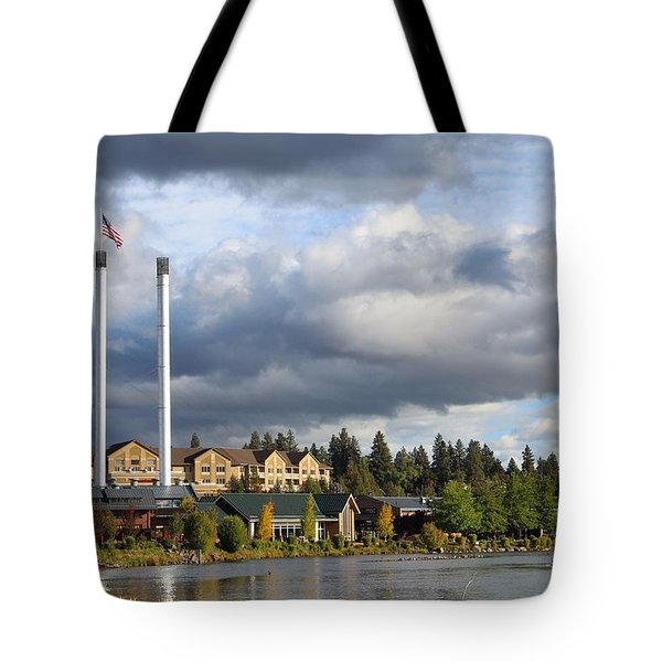 Old Mill District Tote Bag