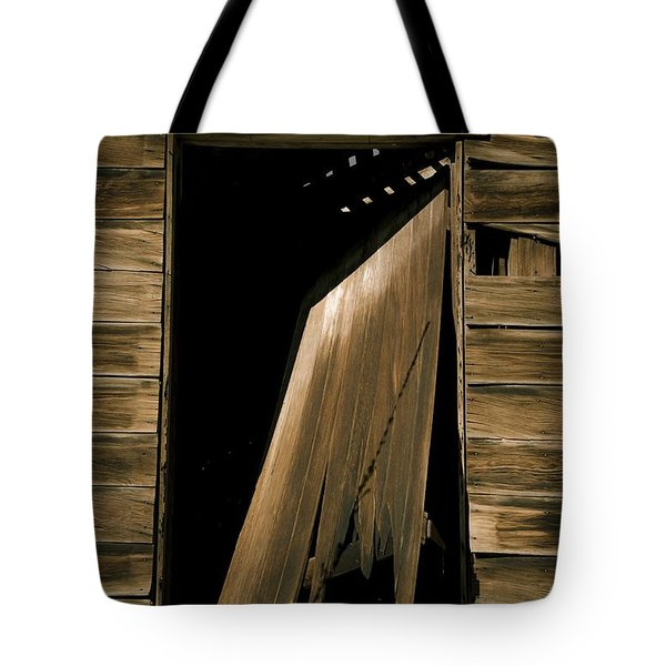 Old Mill Door Tote Bag
