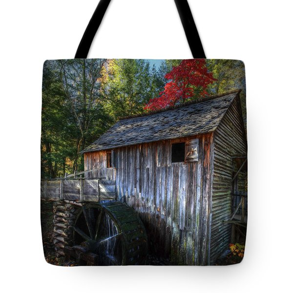 Old Mill In Fall  Tote Bag
